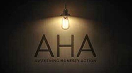 AHA: Awakening, Honesty, Action